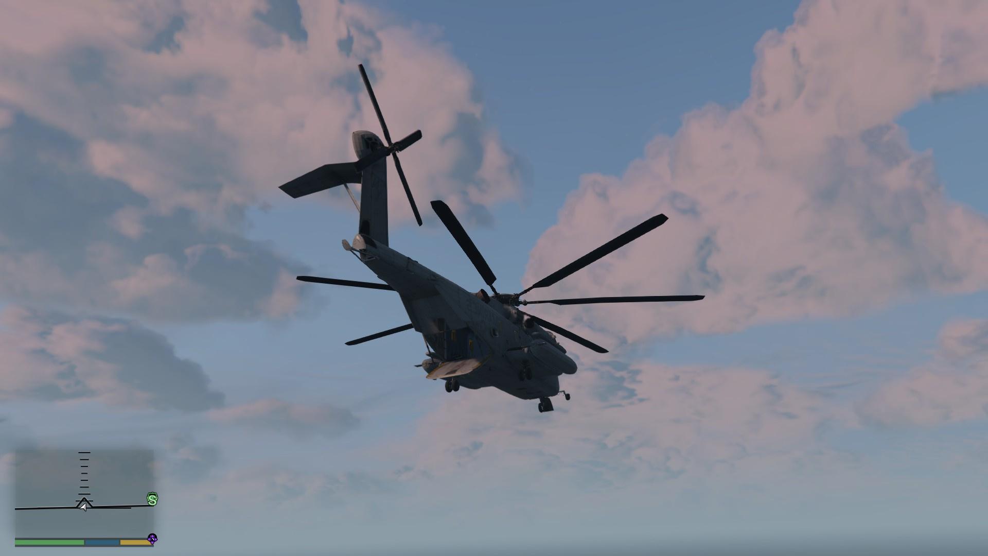 Sikorsky Ch 53 Sea Stallion Add On Replace Gta5 Modscom