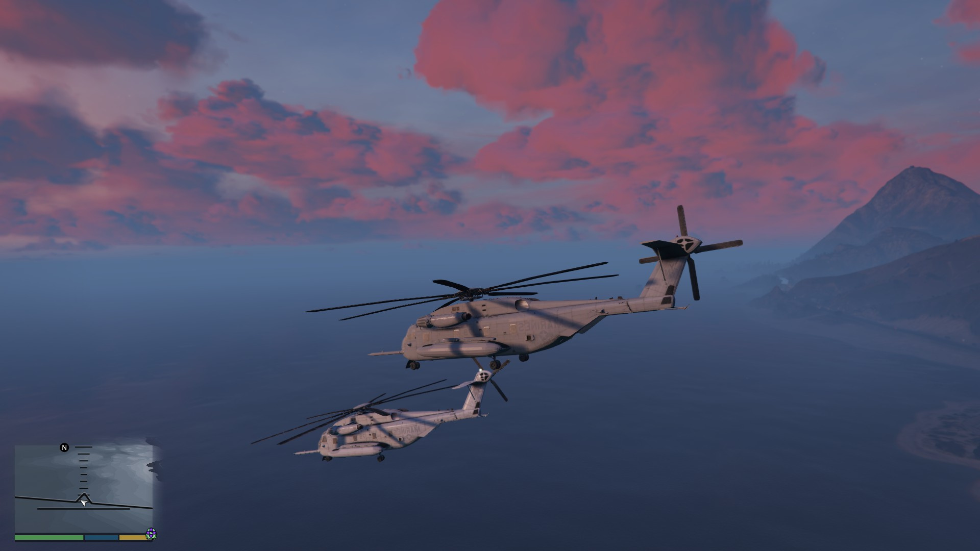 Sikorsky CH-53 Sea Stallion [Add-On / Replace]