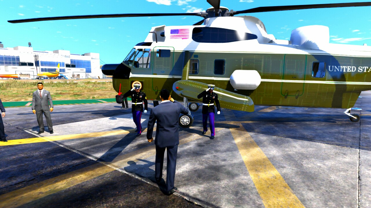 Sikorsky Vh 3d Marine One Add On Replace Gta5 Mods Com
