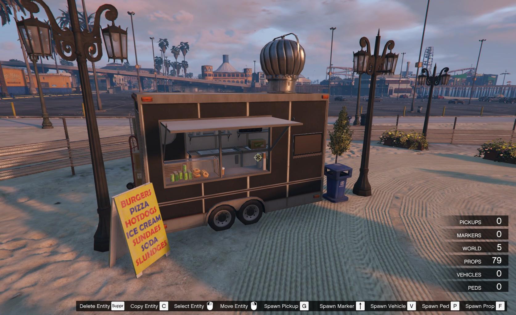 Simple Food Beach [Map Editor/ FiveM] - GTA5-Mods com