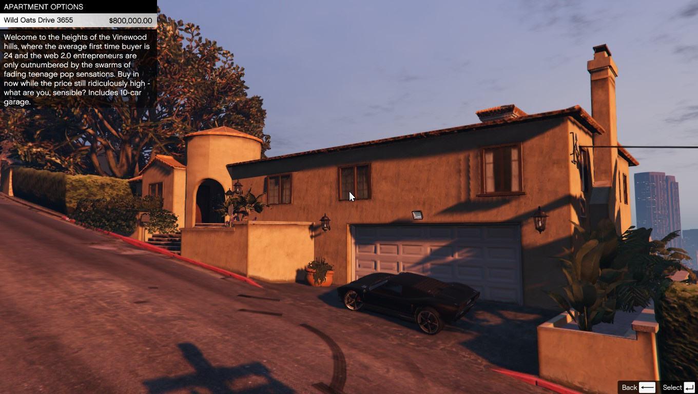 Single player apartment gta5 Hause on line