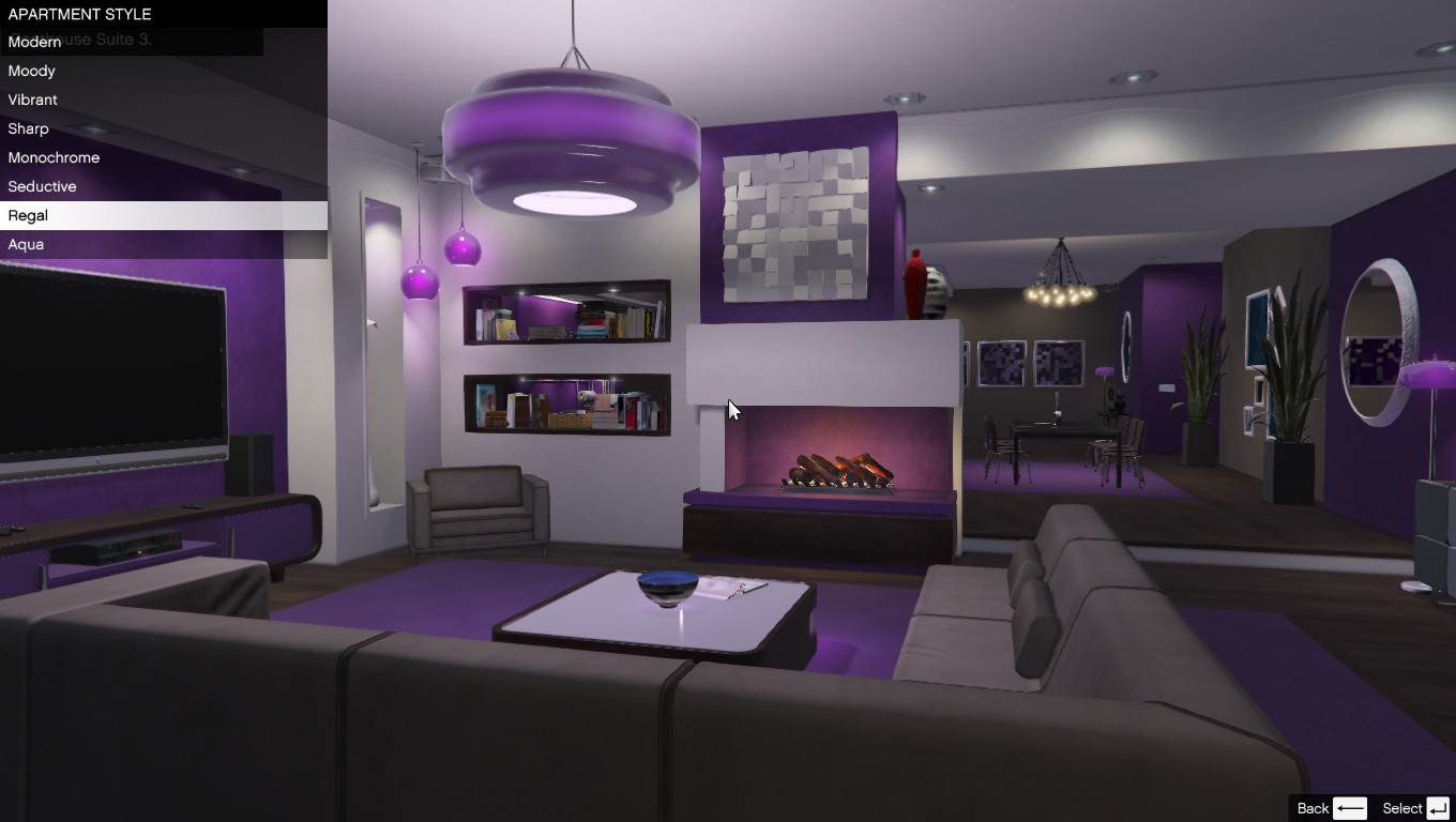 Single player apartment gta5 for Find a house online