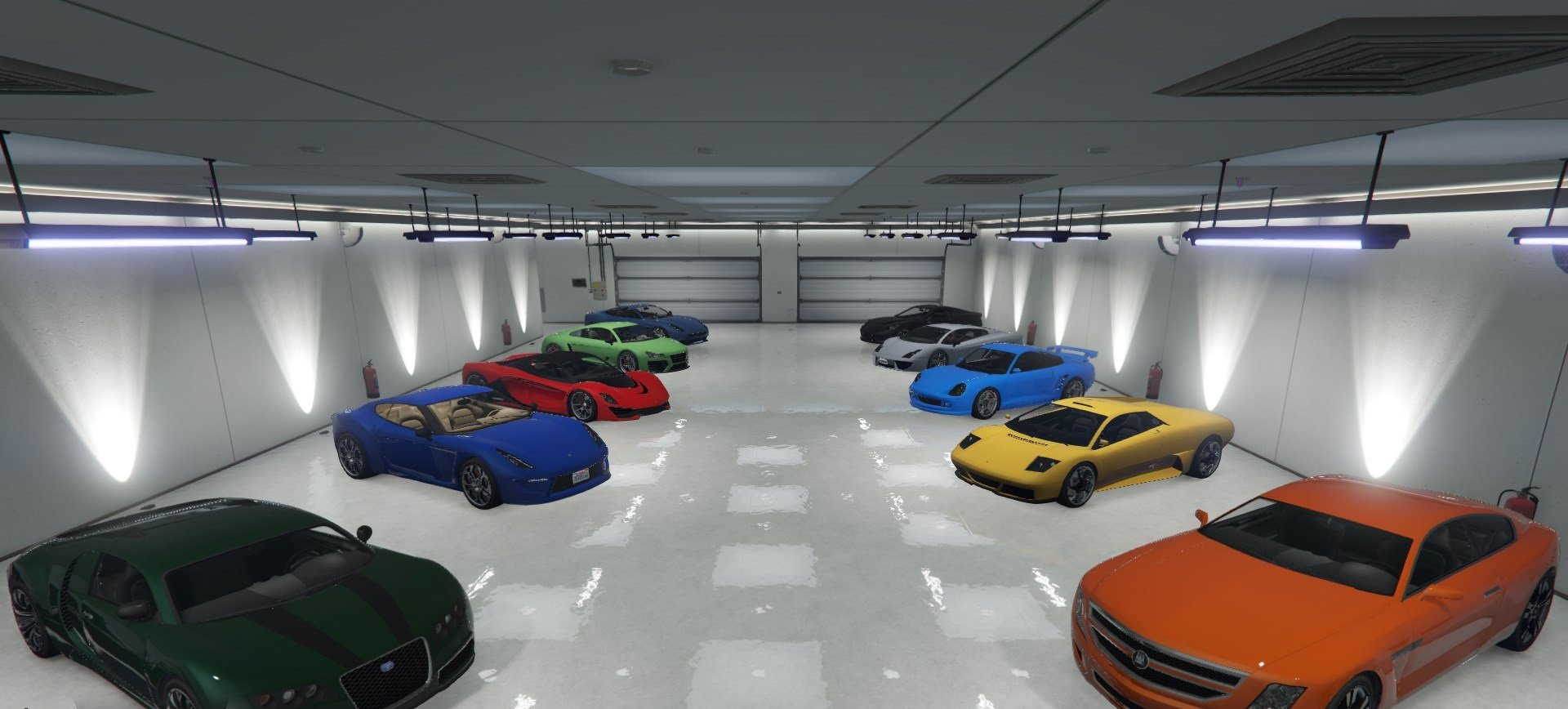 Single player garage spg gta5 for Five car garage