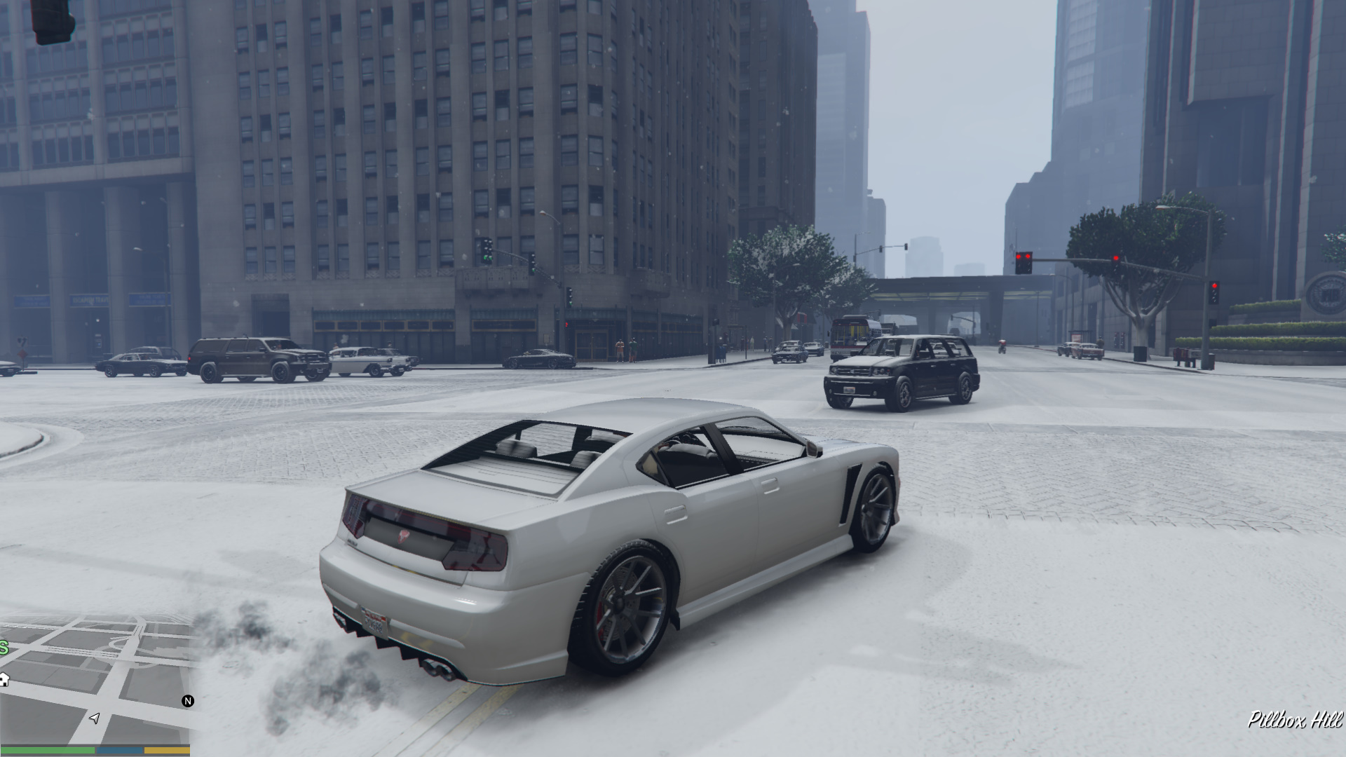 Singleplayer Snow - GTA5-Mods com