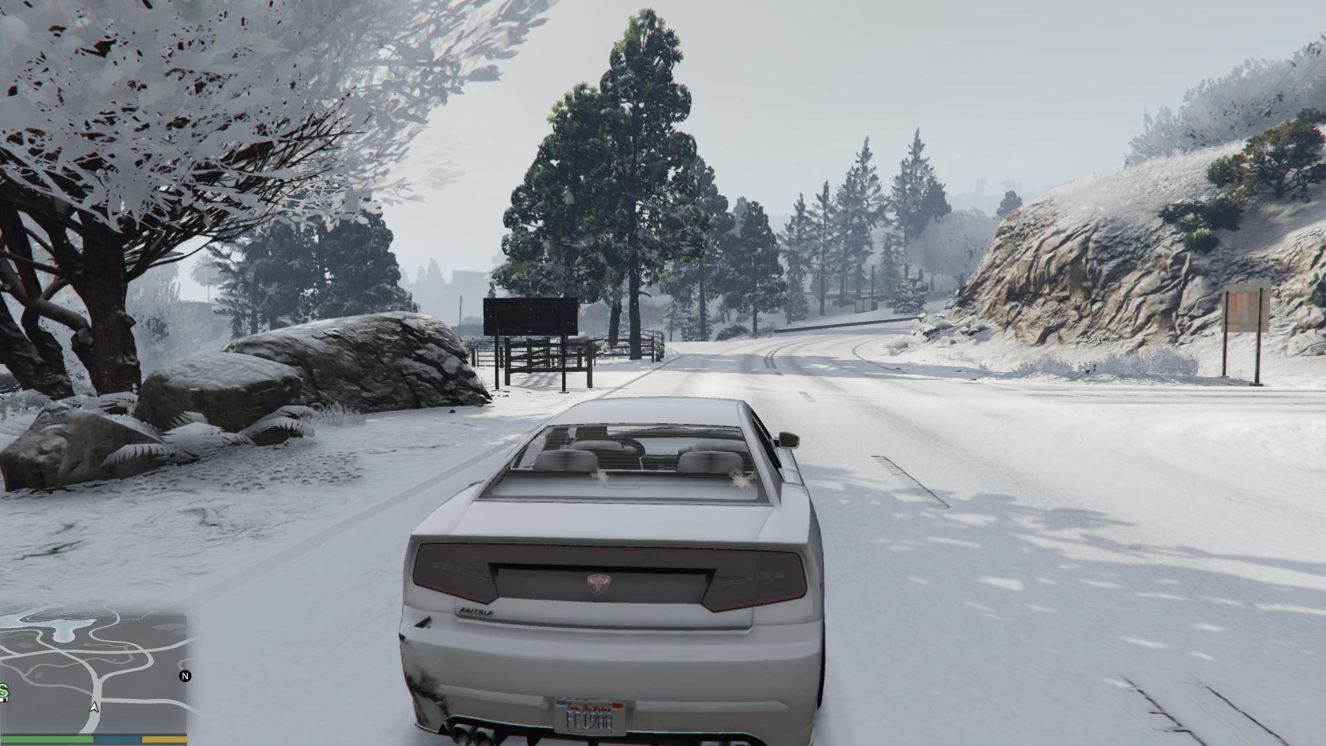 Скачать мод снег для гта 5