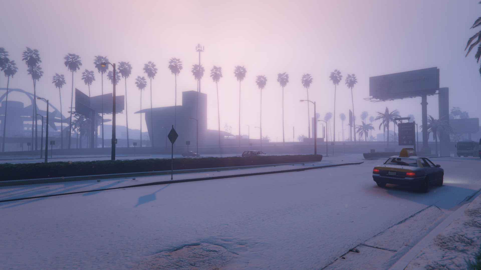how to make it snow in gta 5