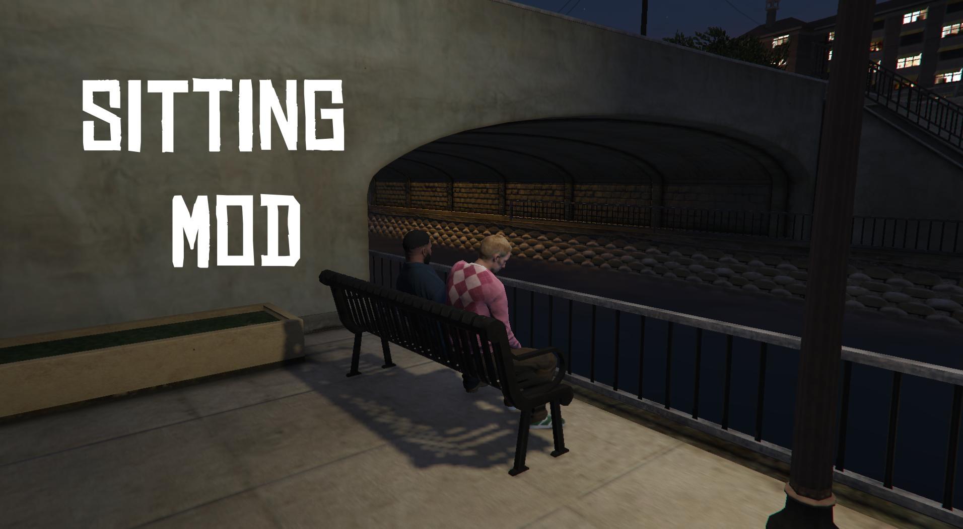 Sitting Mod - GTA5-Mods com