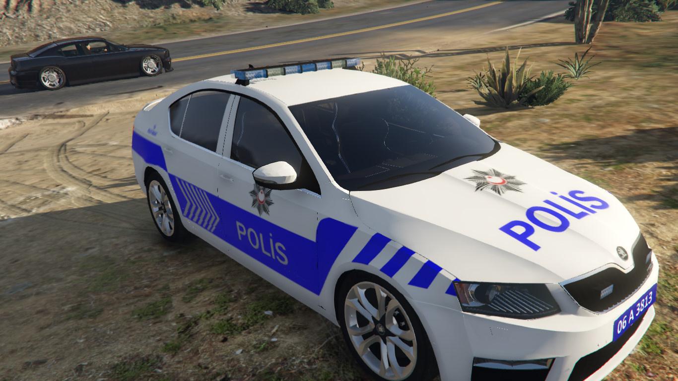 Skoda Octavia 2016 Yeni Turk Polis Arabasi Gta5 Mods Com