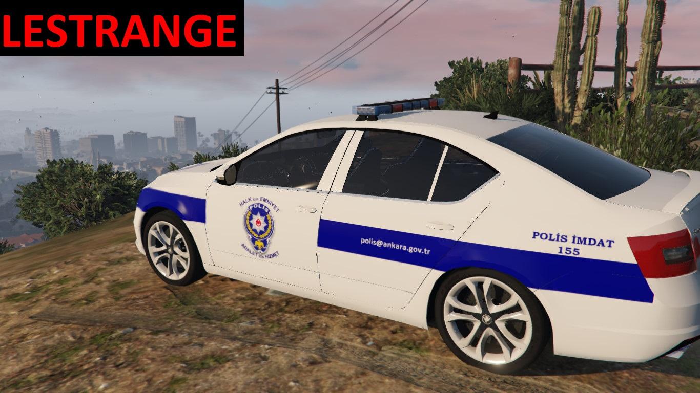 Skoda Octavia Turk Polis Arabasi Gta5 Mods Com