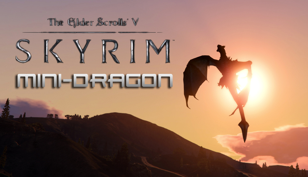 Скачать Skyrim Mini-Dragon бесплатно