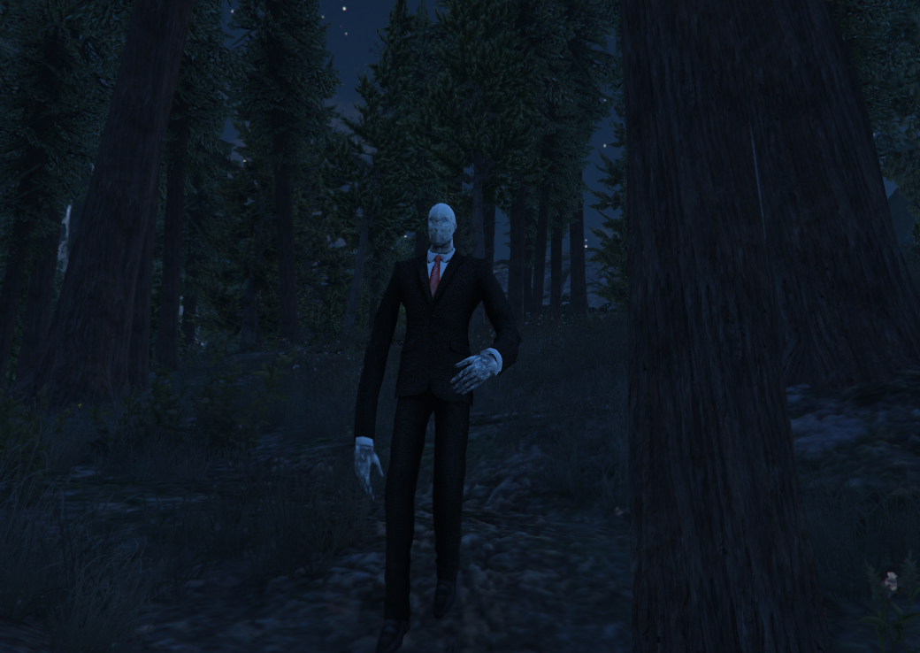 how to play slender man