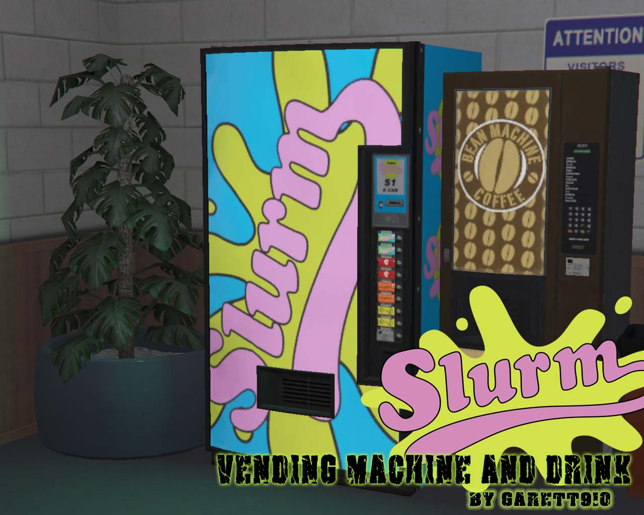 Slurm Vending Machine & Drink - GTA5-Mods com