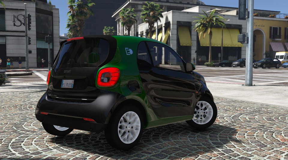 smart fortwo electric drive add on gta5. Black Bedroom Furniture Sets. Home Design Ideas