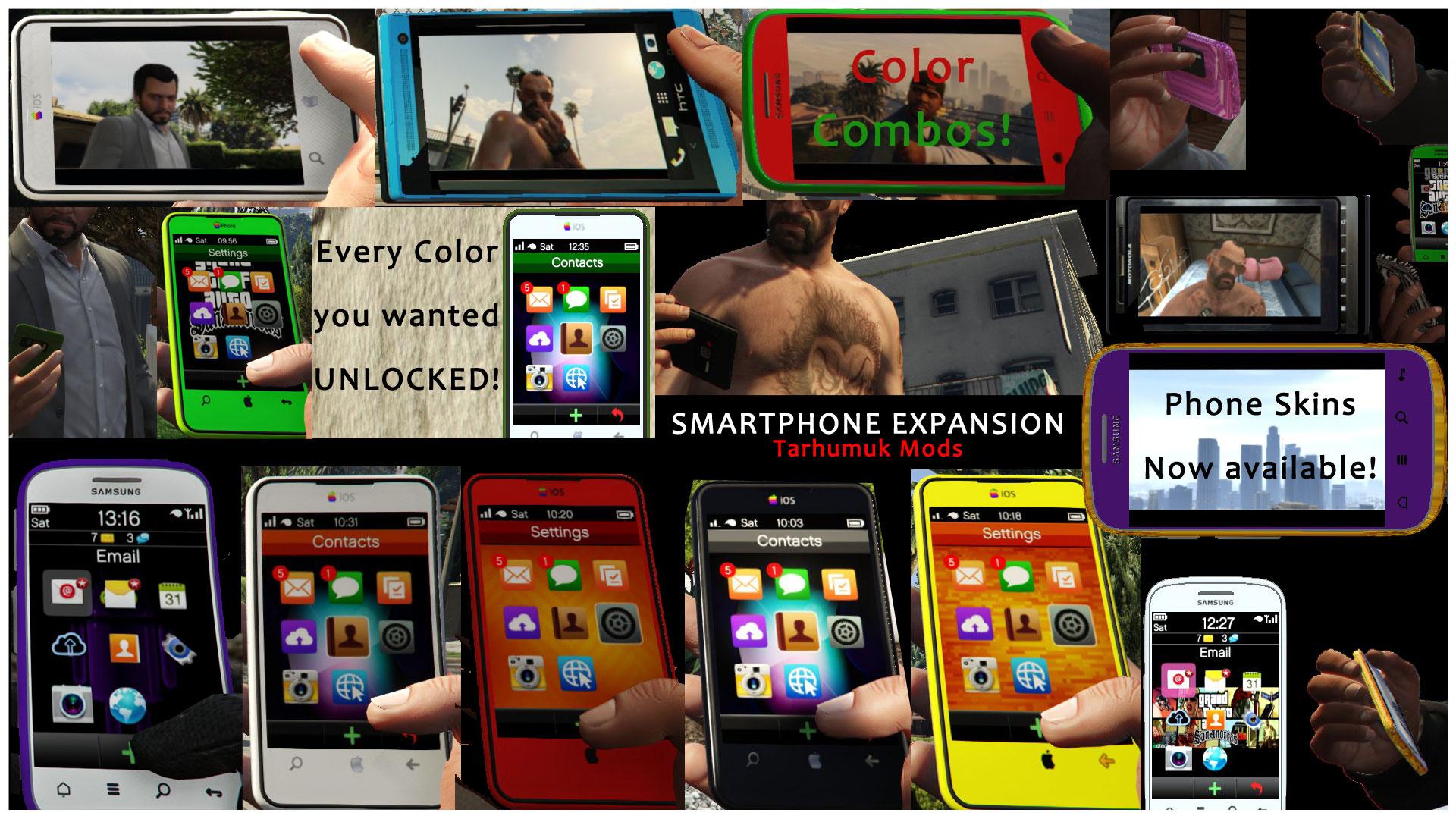 Smartphone Expansion - GTA5-Mods com