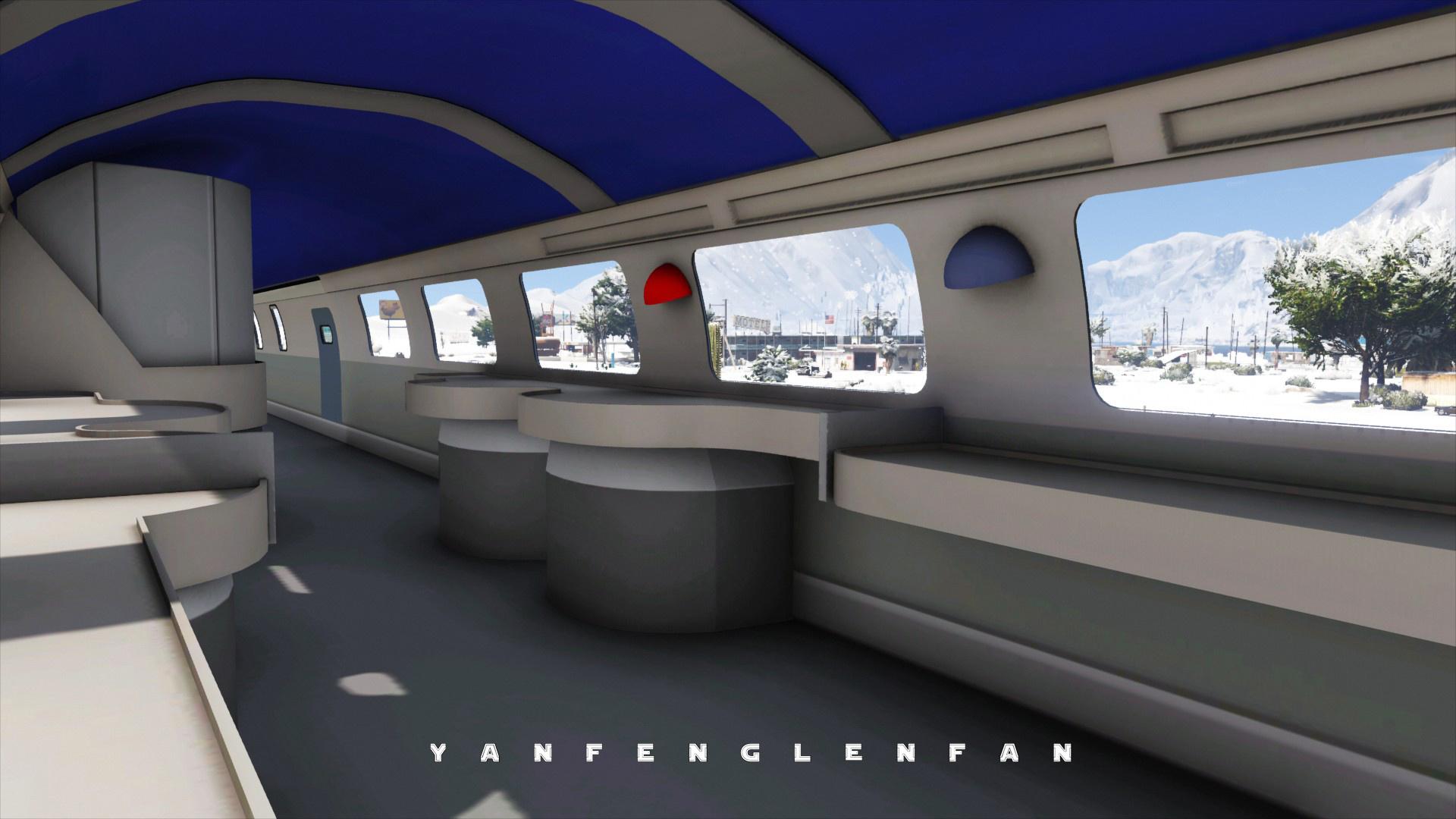 6 Passenger Vehicles >> SNCF TGV Duplex high-speed train 法国国铁双层高速动车组 [ Add-On HD ...