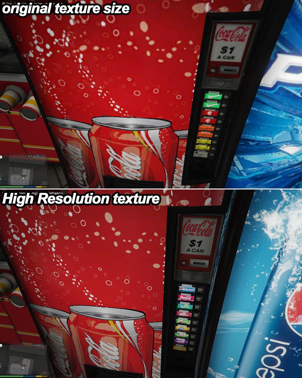 soda vending machines coca pepsi more gta5 mods com