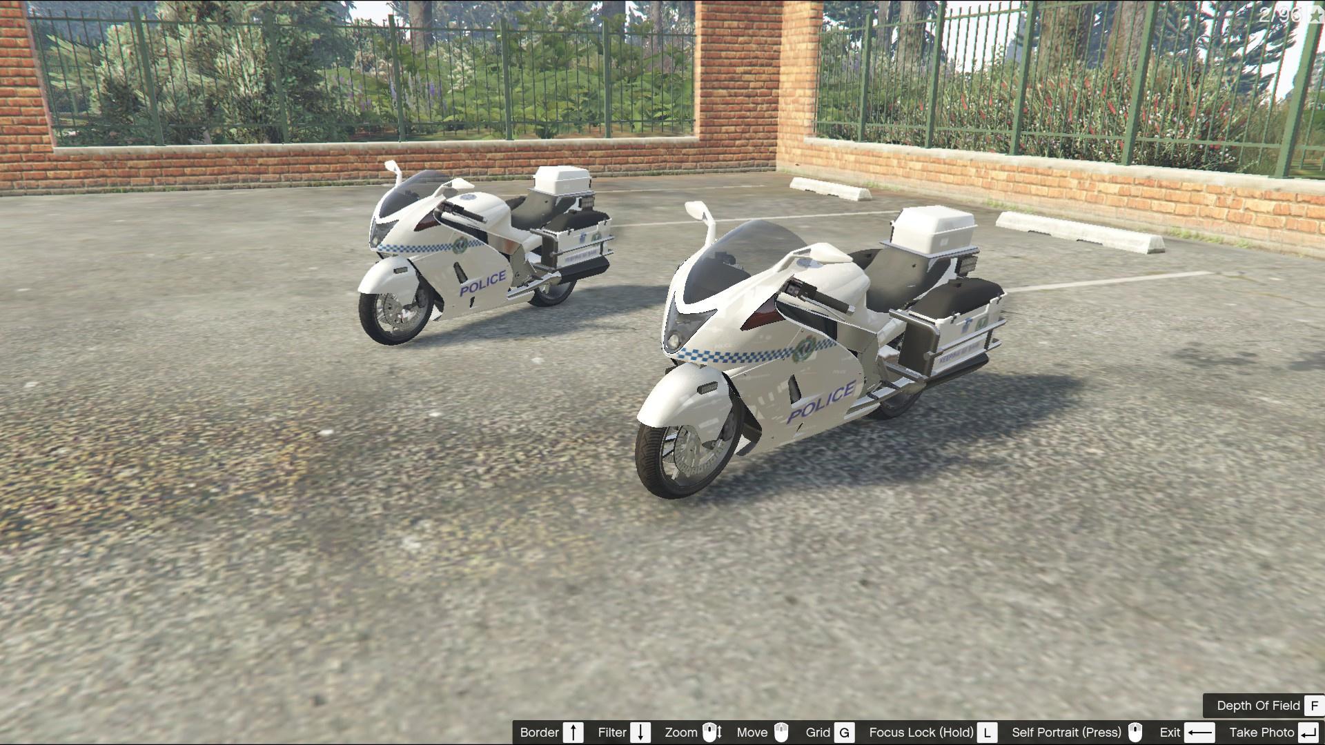 South Australia Police Hakuchou Police Motorcycle Gta5 Mods Com