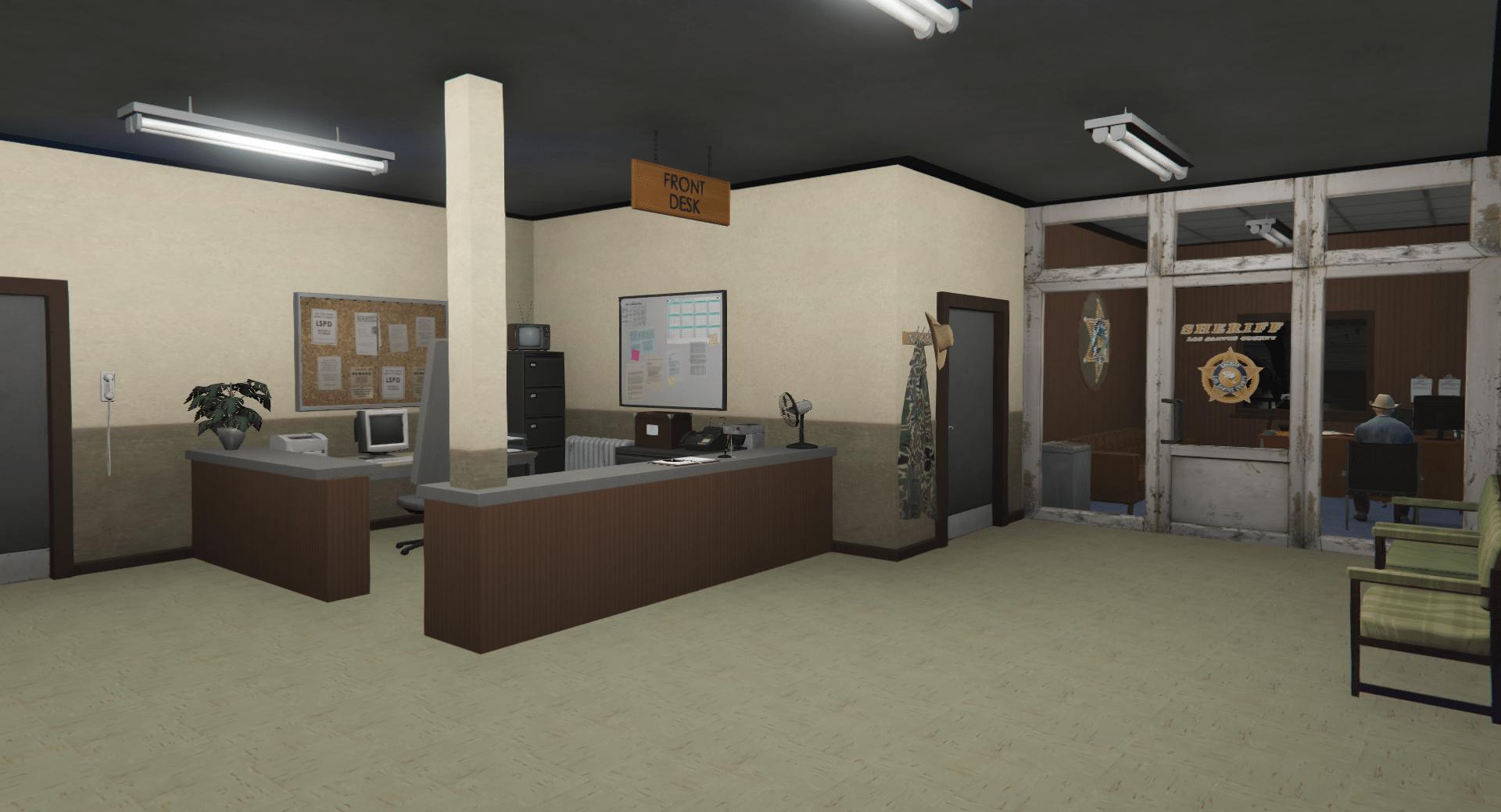 [GTA 5] Расширенный полицейский участов в Сэнди Шорс