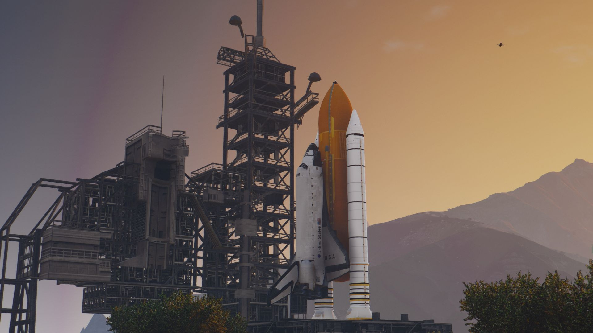 how to get a space shuttle in gta 5