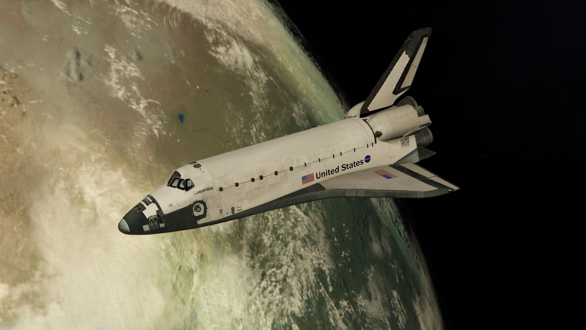 Space Shuttle NASA [Add-On | Standalone] - GTA5-Mods.com