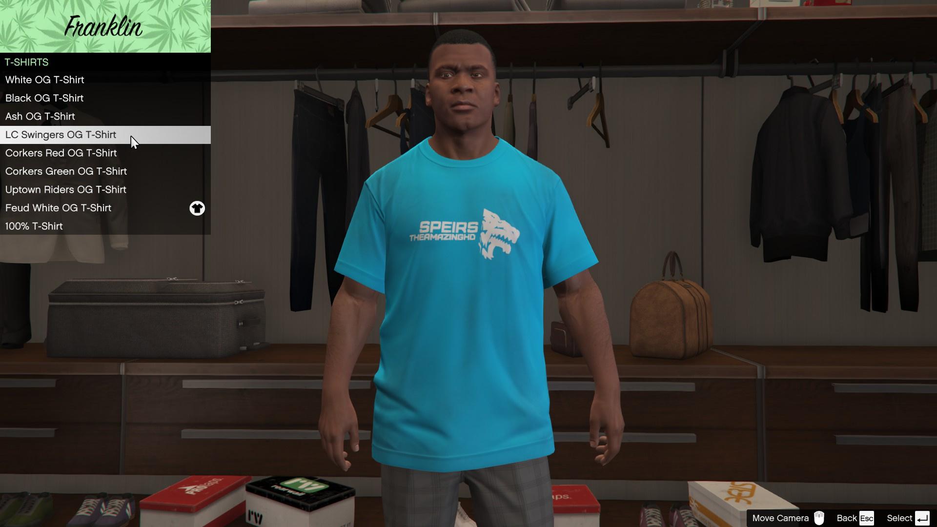SpeirsTheAmazingHD Shirts - GTA5-Mods com