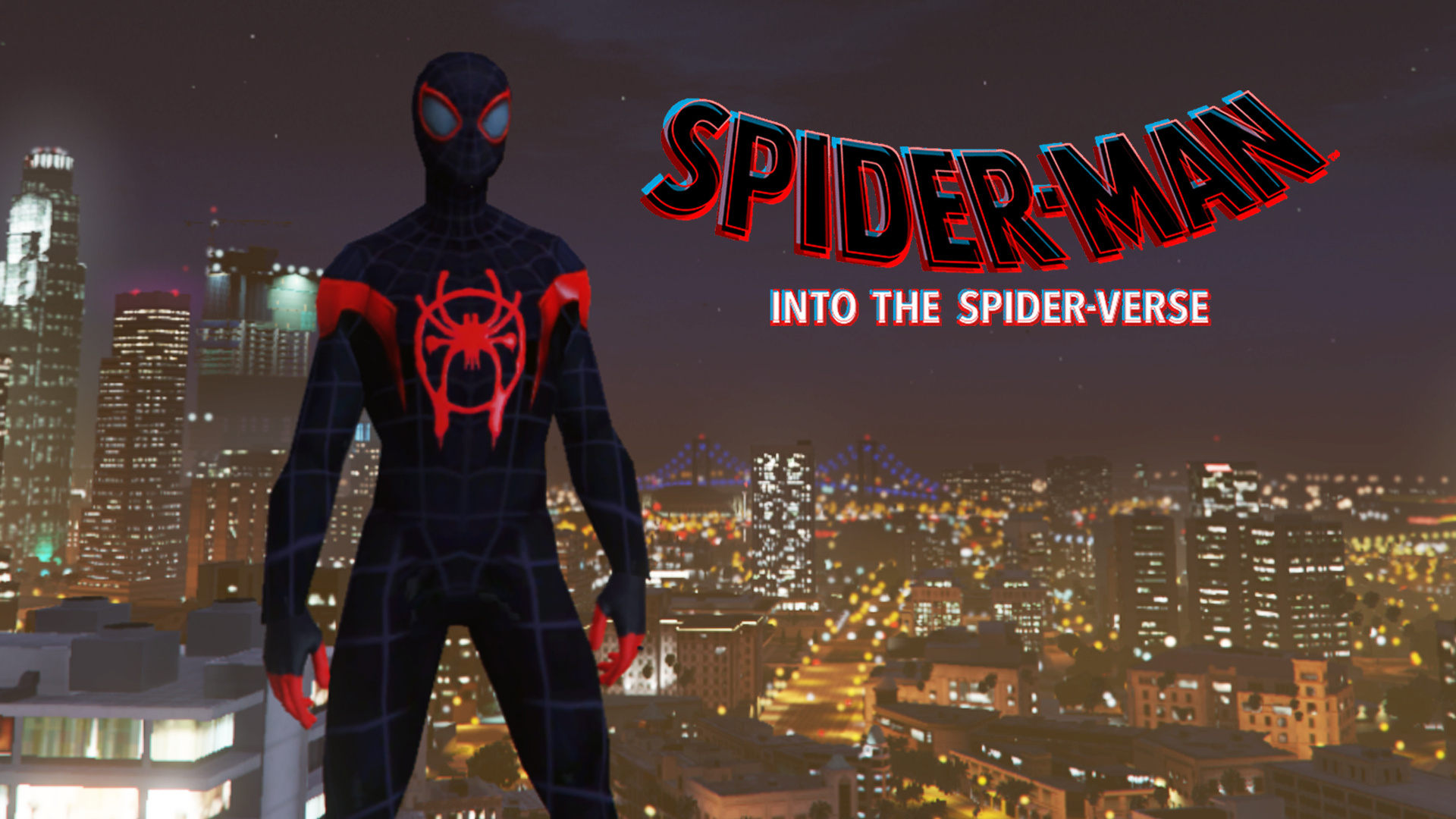 Miles Morales (Spider man: Into the Spider-Verse & MFF) [Add
