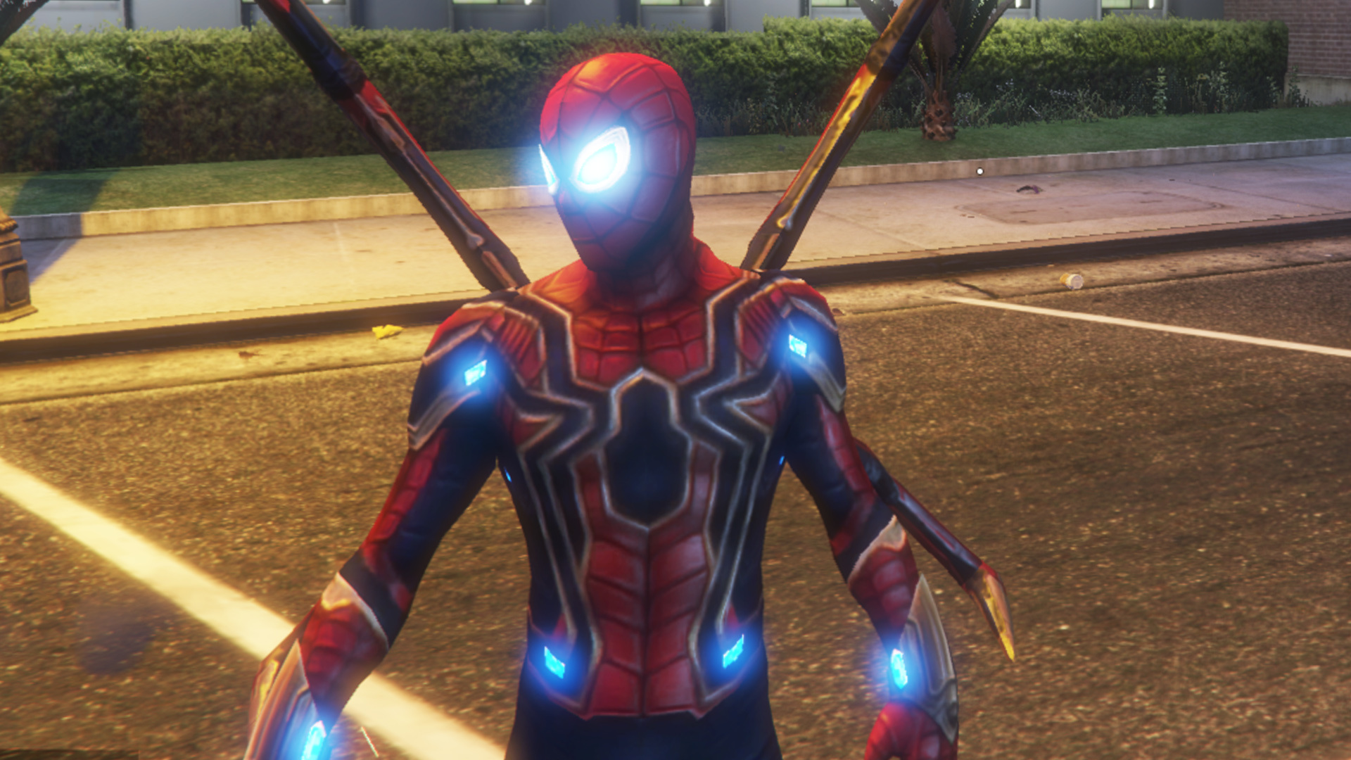 Spider Man Pack Far From Home Infinity War Ps4 Advanced Suit