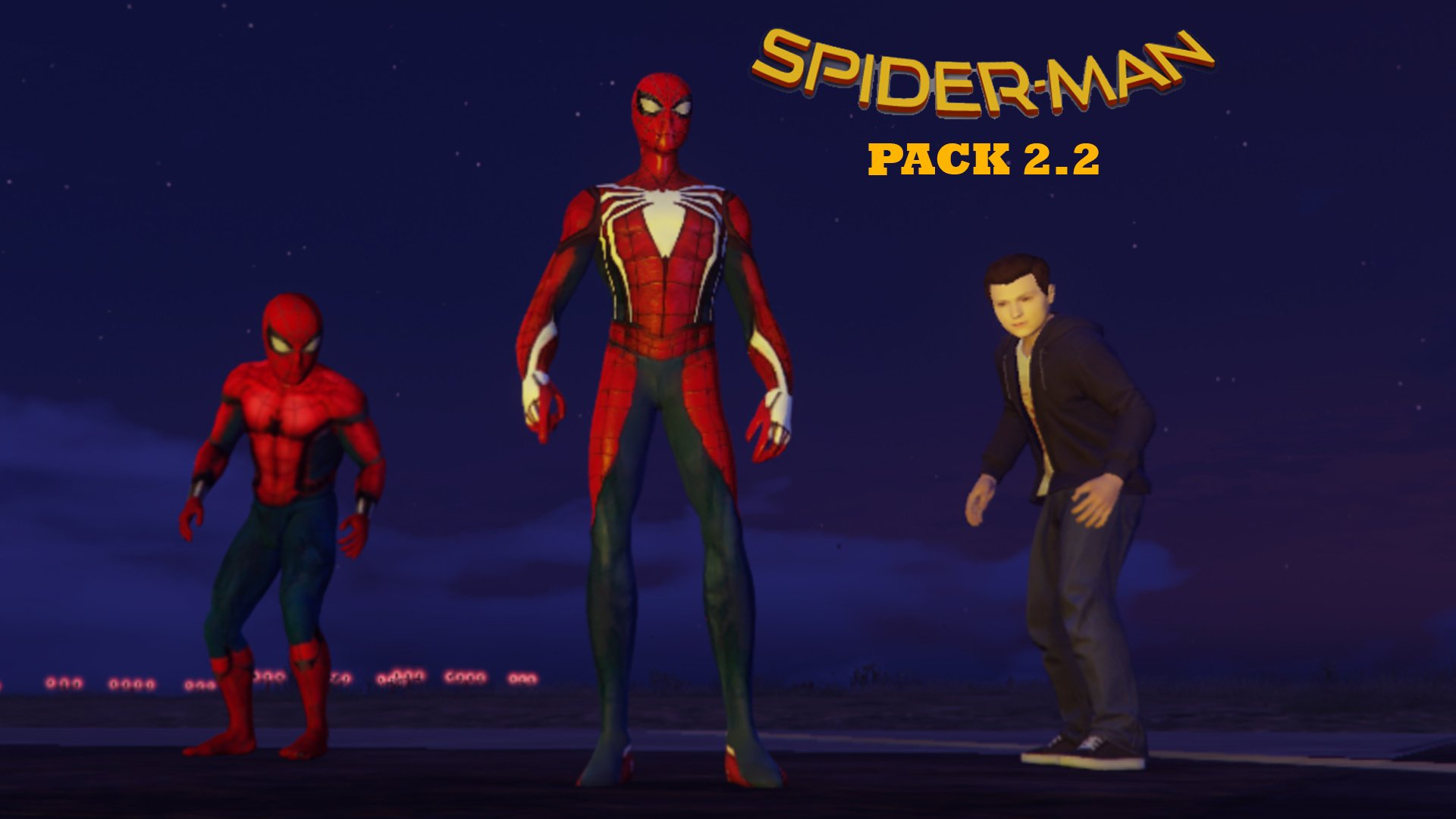 Spider-Man Pack (Far From Home, Infinity War, PS4 Advanced