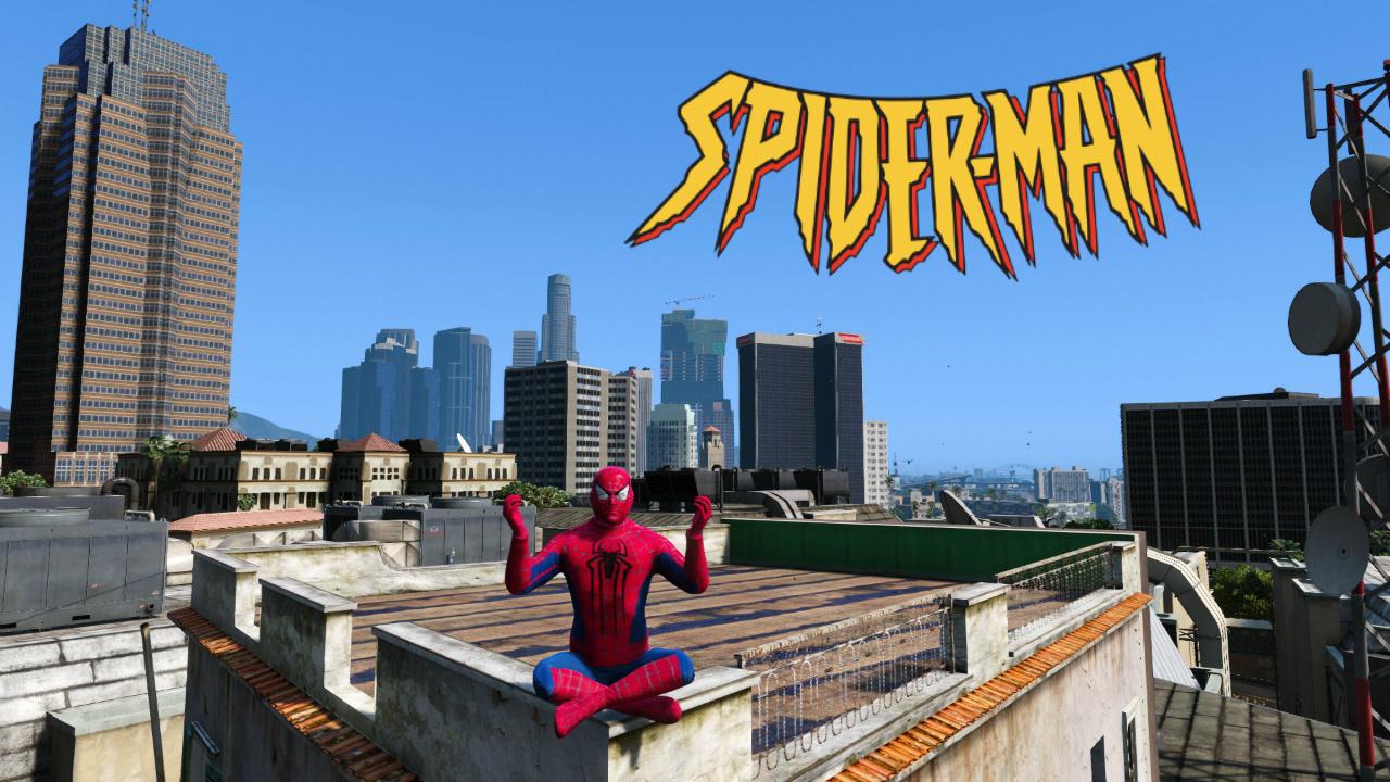 Spiderman Suit - GTA5-Mods com