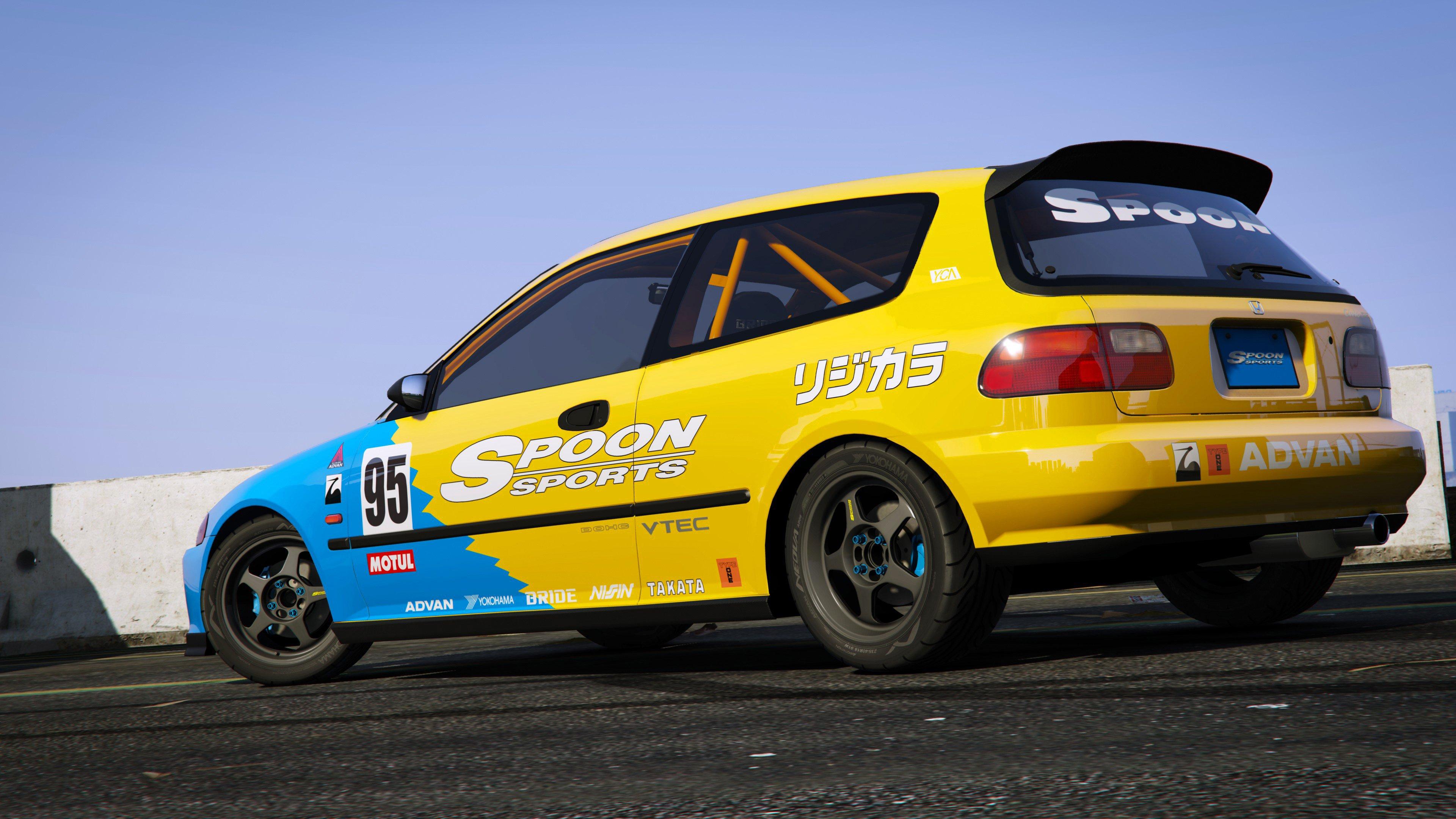 Spoon Sports Honda Civic SIR EG6 Add On