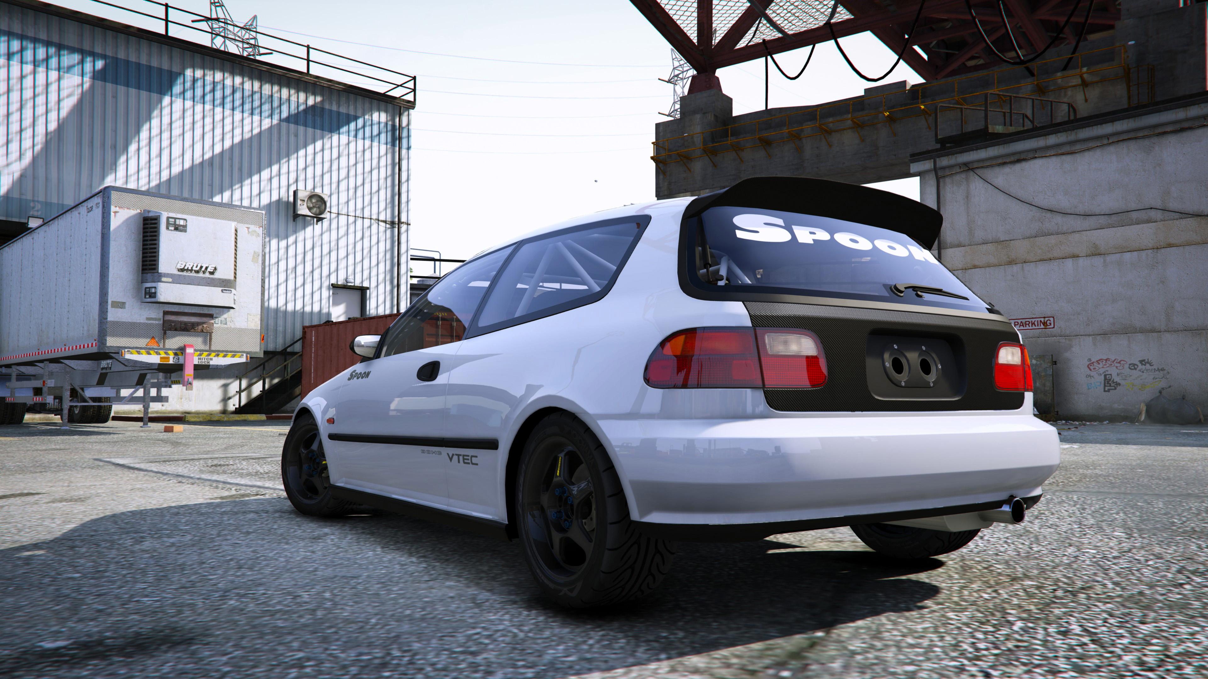 Spoon Sports Honda Civic Sir Eg6 Add On Gta5 Mods Com