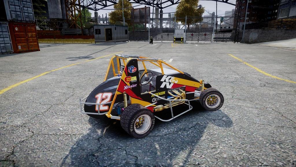 SPRINT CAR [FIVEM] [SINGLE PLAYER] - GTA5-Mods com