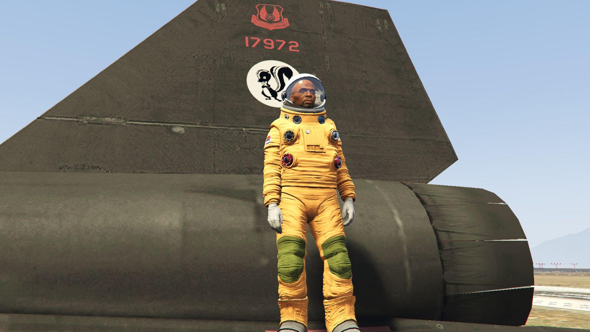 SR-71 Blackbird Pilot Suit - GTA5-Mods com