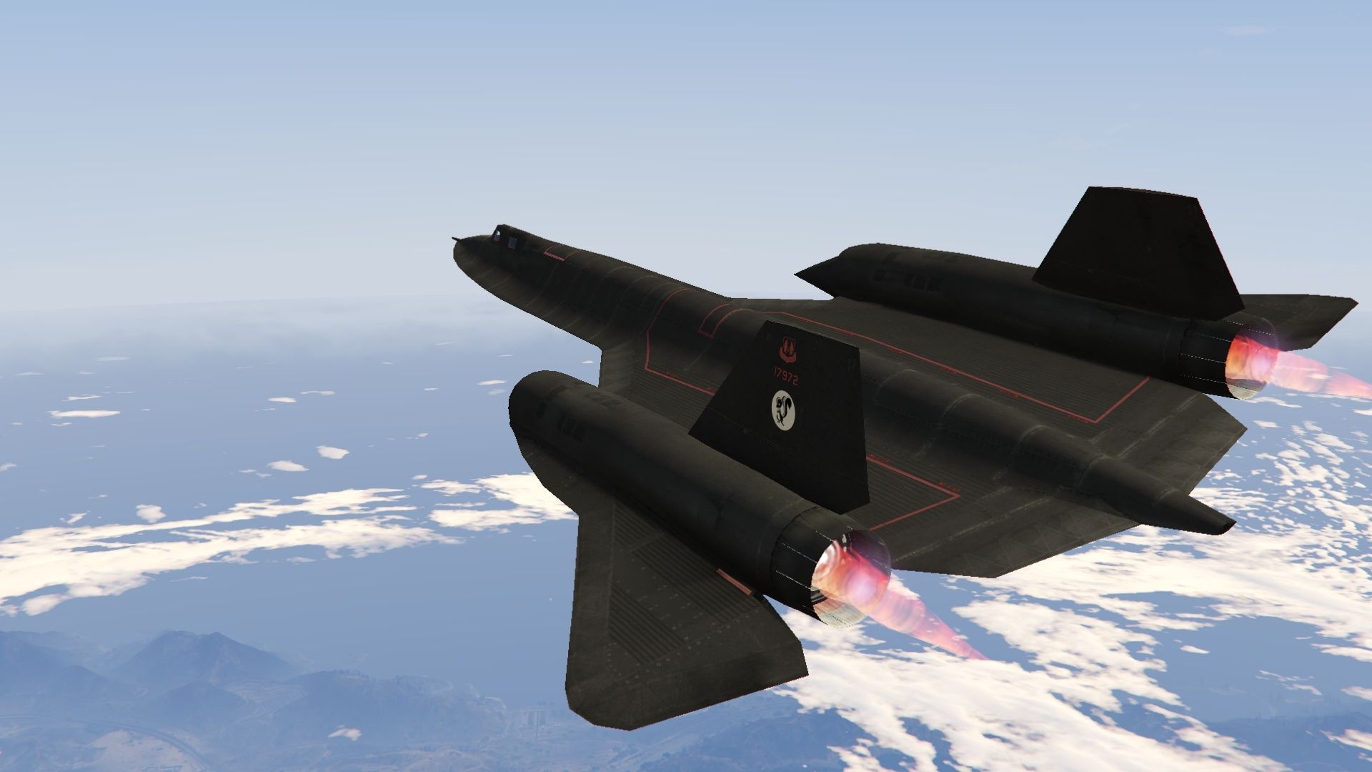 Fastest Jet In The World >> Sr 71a Blackbird Fastest Jet In The World Gta5 Mods Com