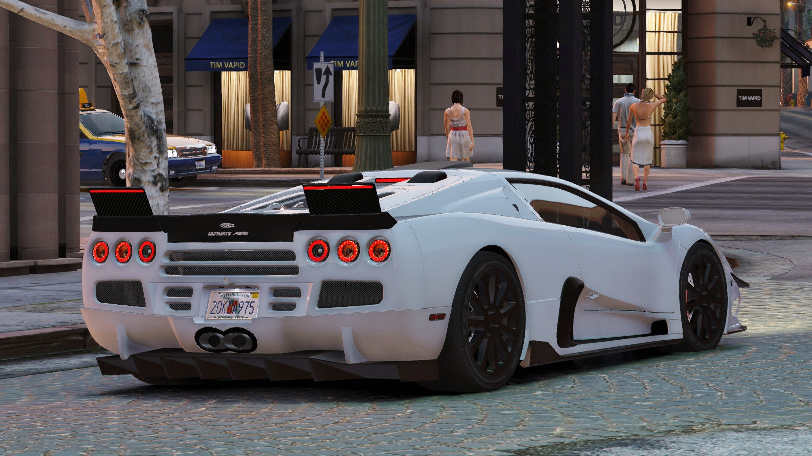 Ssc Ultimate Aero Add On Replace Tuning Gta5 Mods Com