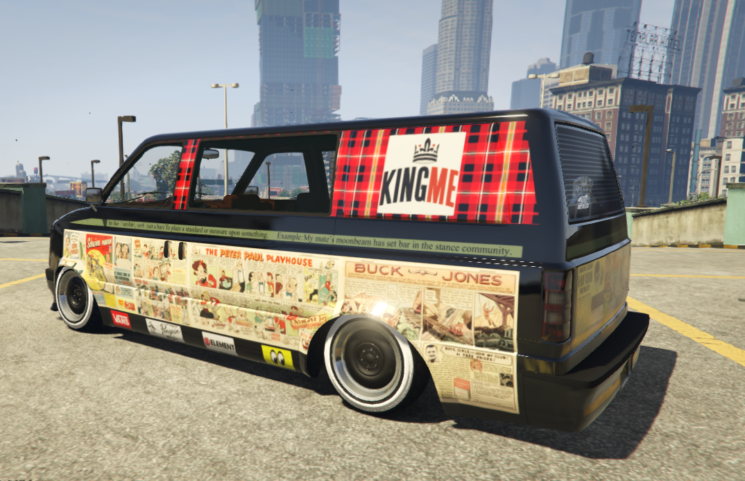 Stance Moonbeam - Comics Livery + Changeable Color [4K