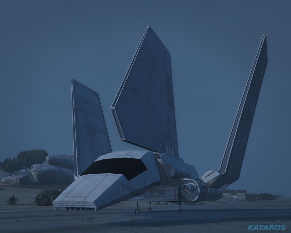 Star wars imperial shuttle tydirium gta5 mods com