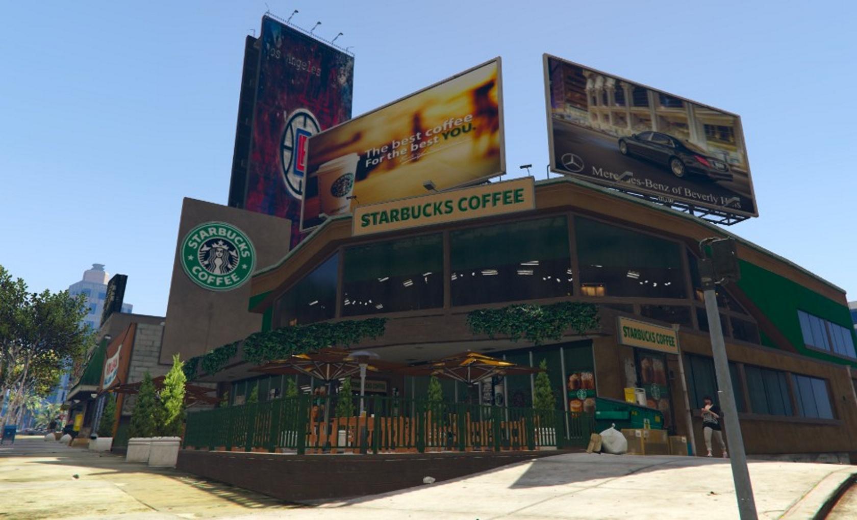 Starbucks Gta5 Mods Com