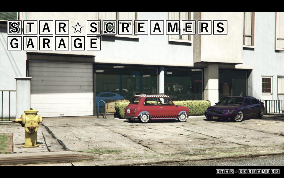 【GTA5 マップMOD】Star☆Screamers Garageを紹介!