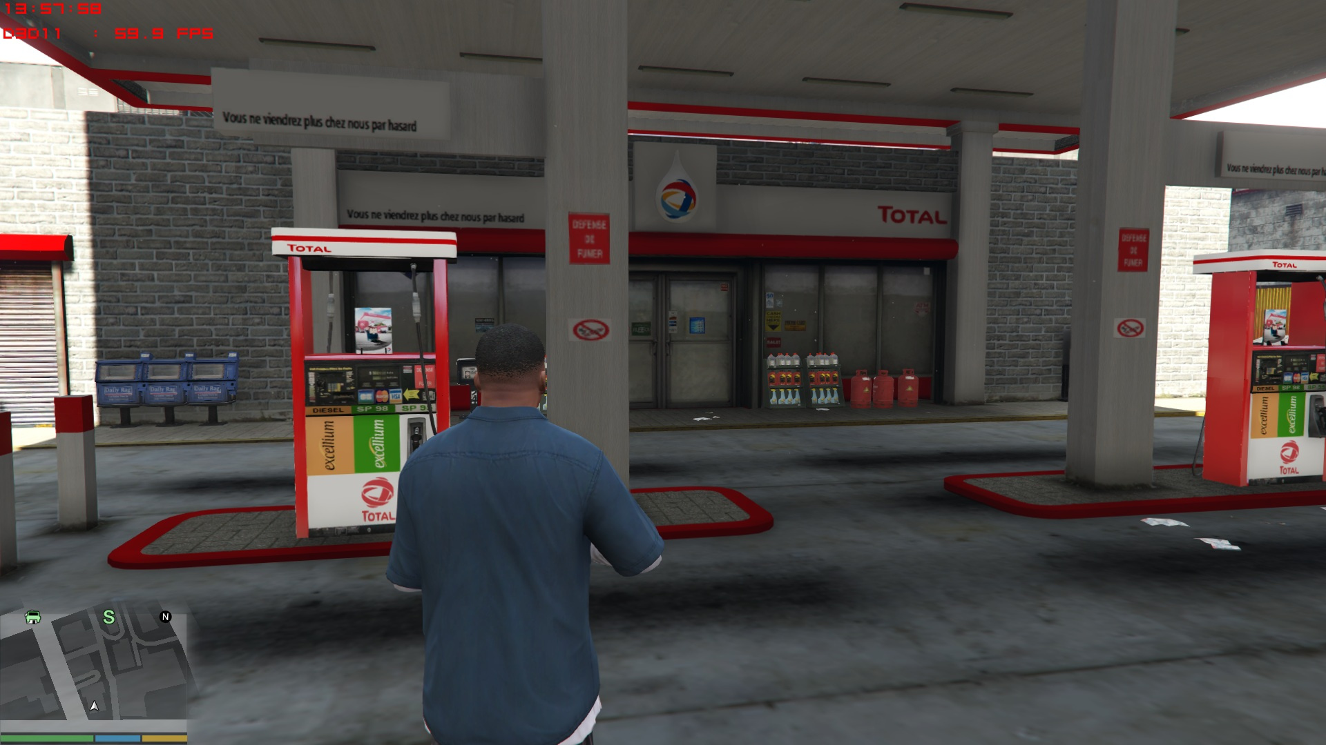 total gas stations stations essences total gta5. Black Bedroom Furniture Sets. Home Design Ideas