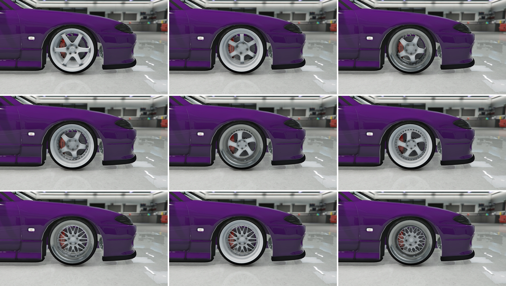 Stretched Tire Wheel Pack - GTA5-Mods com