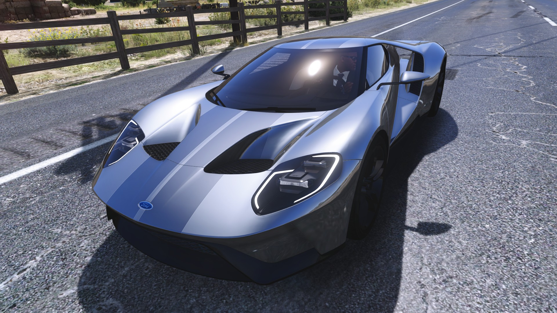 Stripes Paintjob for [YCA] Game68240's 2017 Ford GT - GTA5-Mods.com