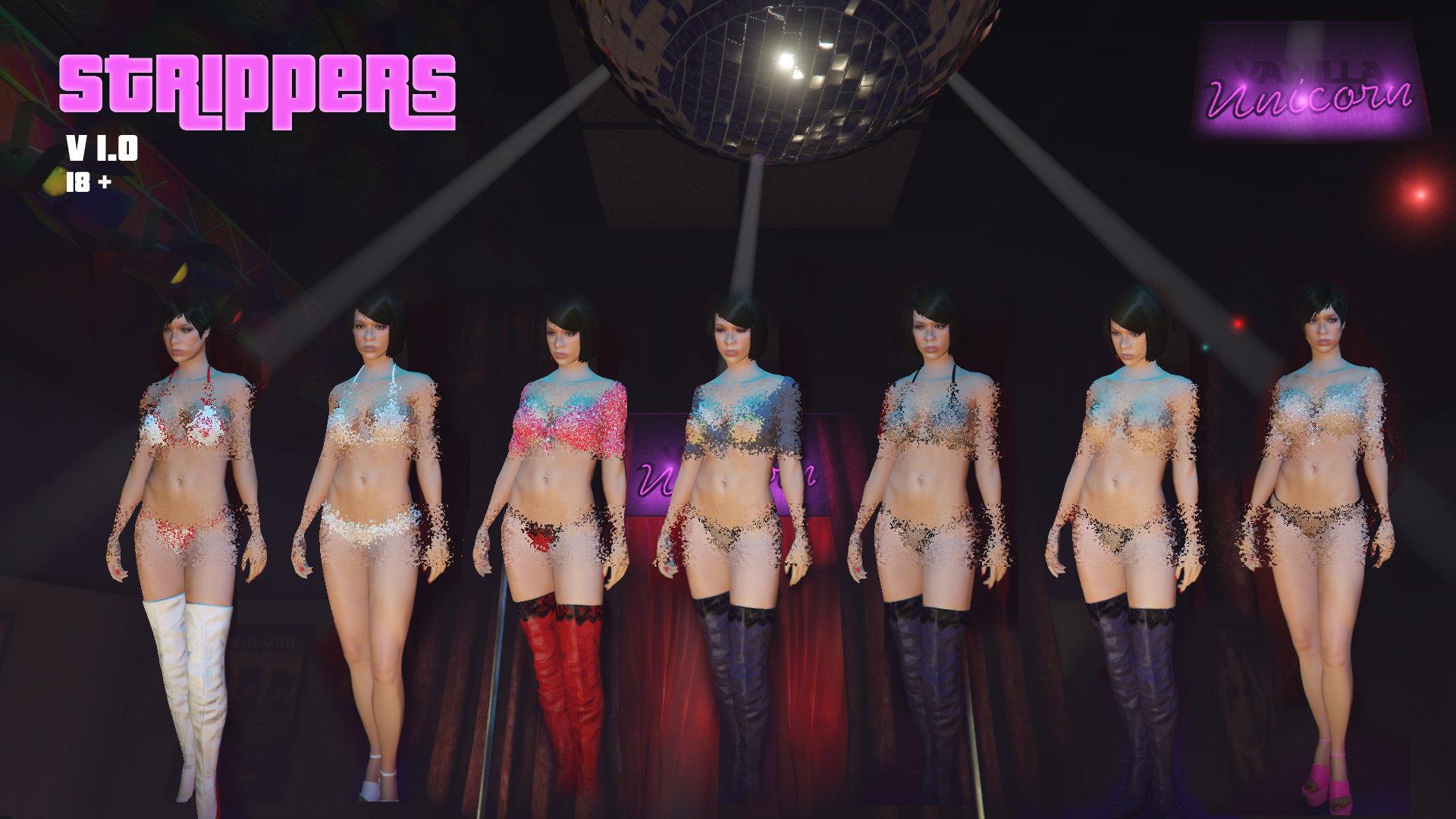 Stripper mod hardcore scene