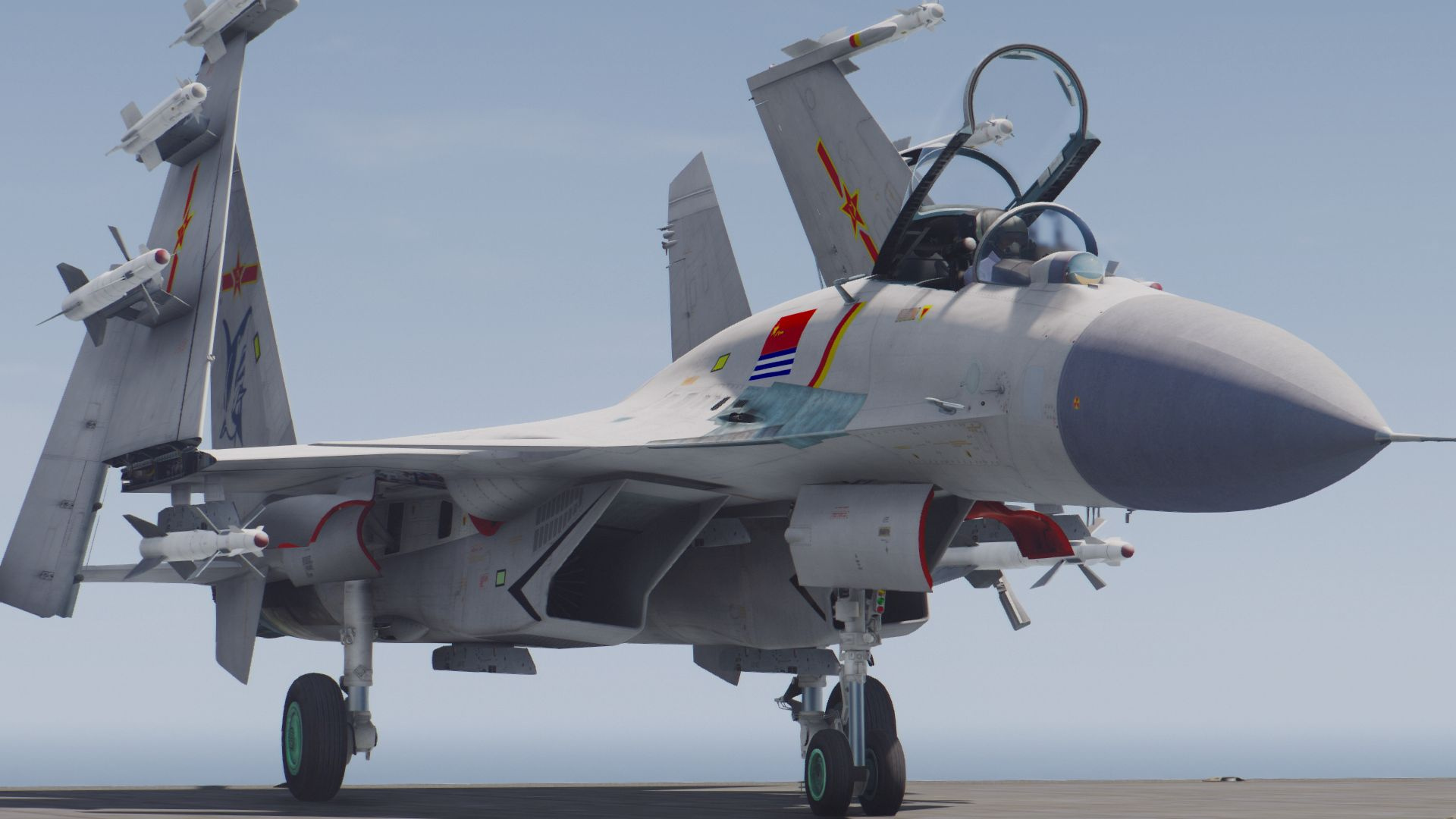 Su-33 Flanker-D /J-15 Fēishā [Custom weapons | Add-On ...