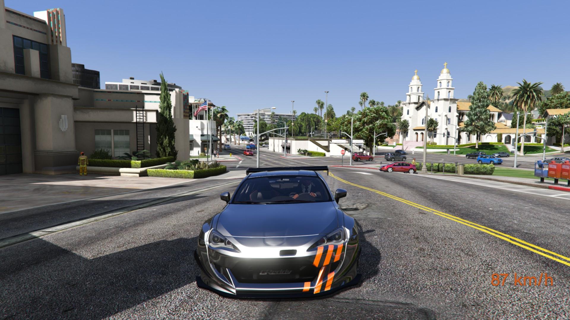 Subaru Brz Pandem Paintjobs Gta5 Mods Com