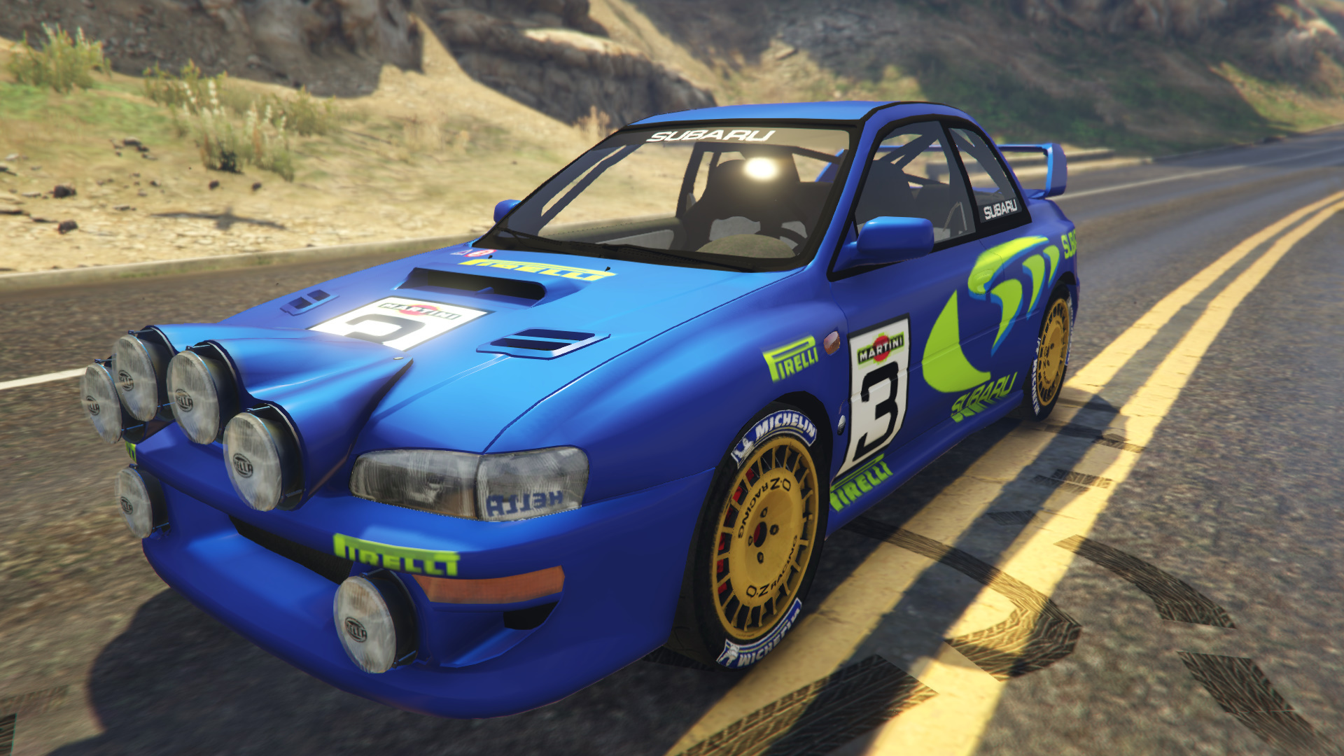 Subaru Impreza Wrc 1998 World Rally Gta5 Mods Com