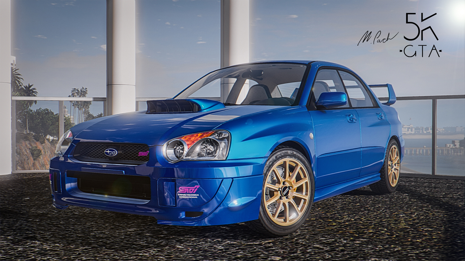 2004 subaru impreza wrx sti wallpaper. Black Bedroom Furniture Sets. Home Design Ideas