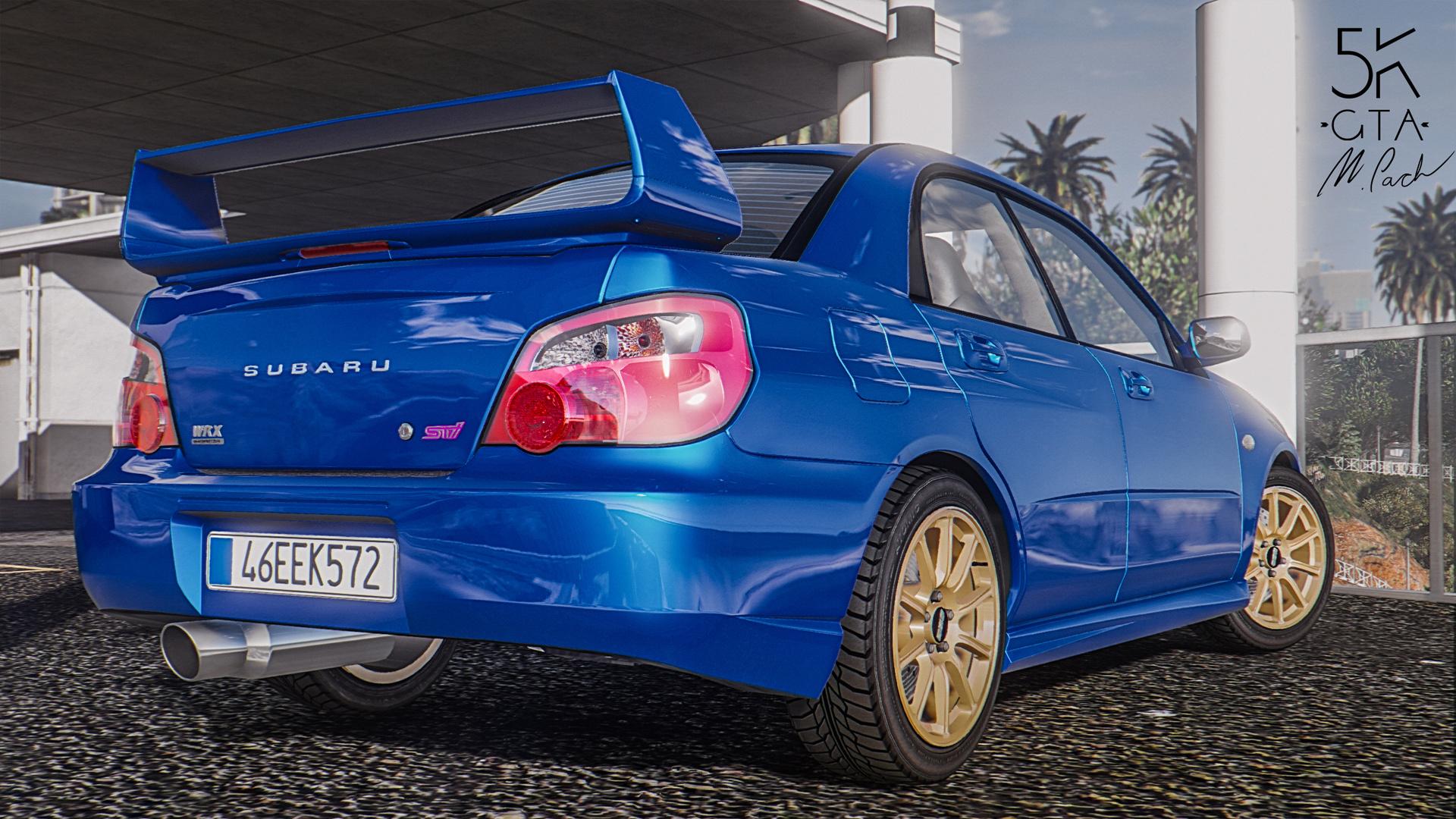 Subaru Impreza WRX STI 2004 AddOn  Tuning  GTA5Modscom