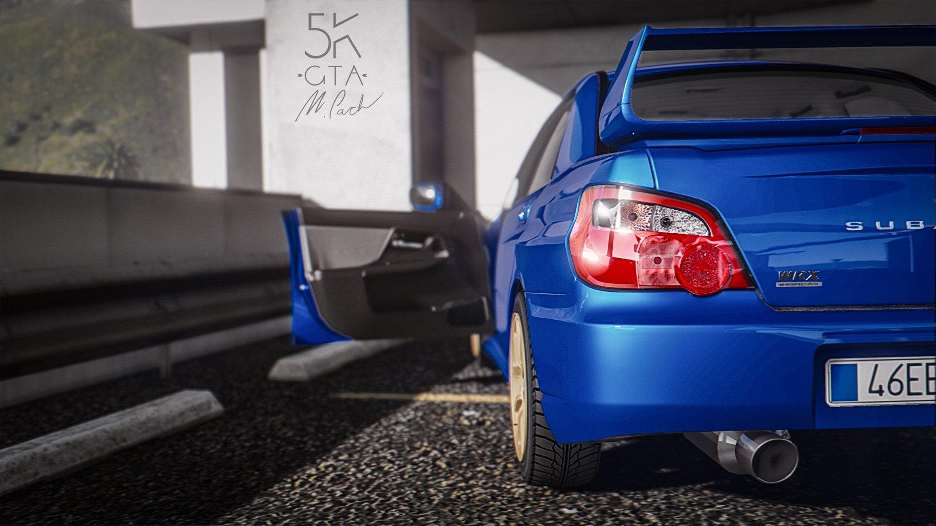 Subaru impreza wrx sti 2004 add on tuning gta5 mods 569d90 balksz 3 vanachro Choice Image