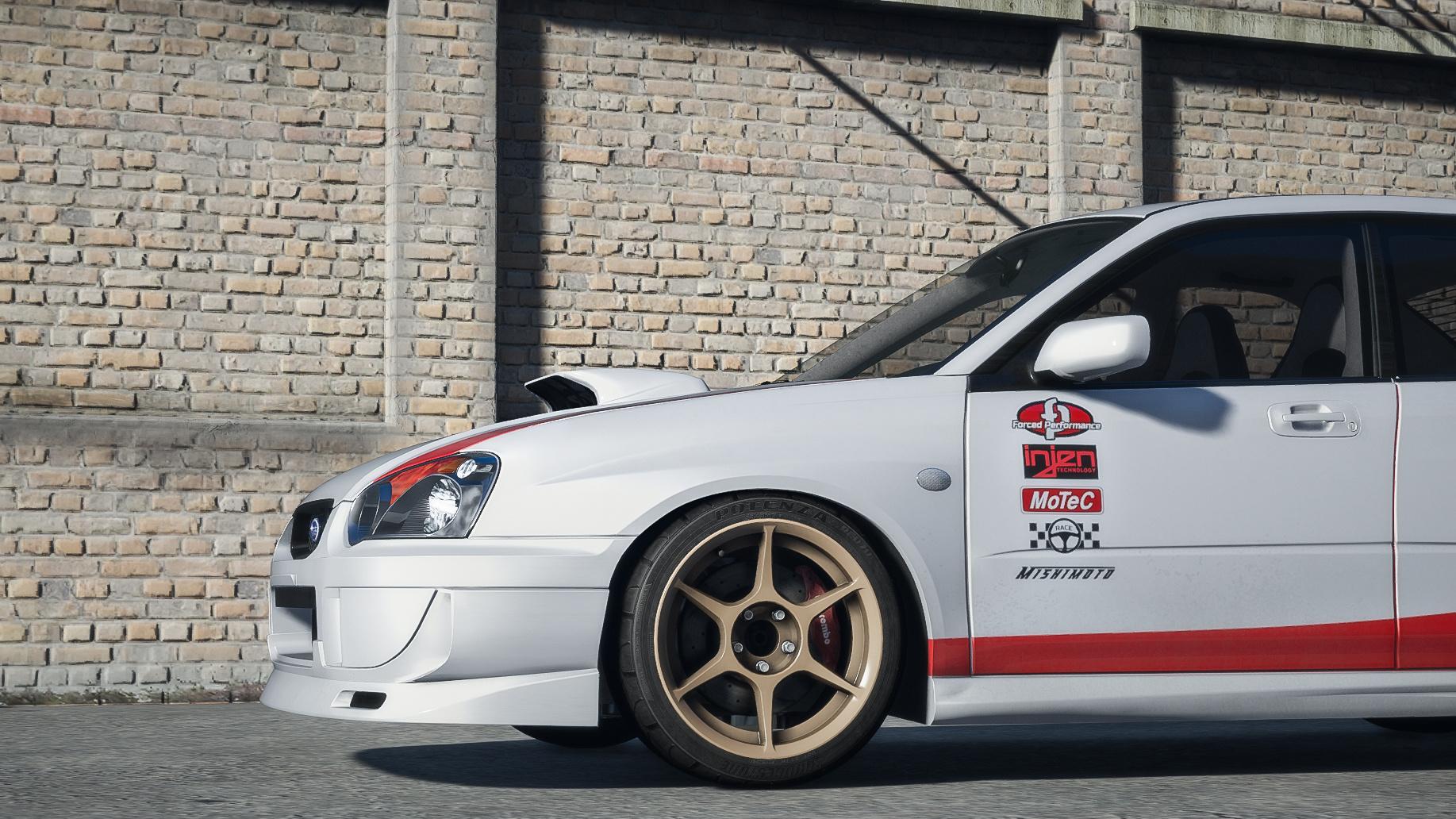 subaru impreza wrx sti 2004 \u0027born to race\u0027 livery gta5 mods com